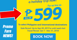 CEBU PACIFIC SEAT SALE PROMO